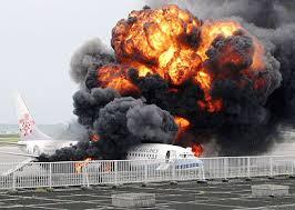 התפוצצות מטוס בשמיים