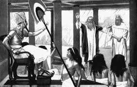 Die Verstockung des Pharaos - Seite 3 Moses_aaron_pharaoh
