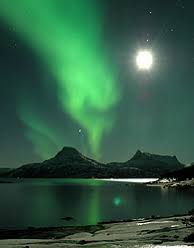 Northern lights over Tysfjord,