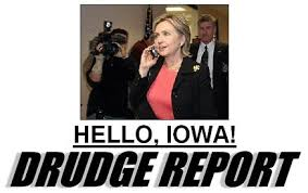 Drudge Report Hillary Clinton