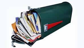 Stirnband mit Münzen Junk-mail-pro-quo-mailbox-photo