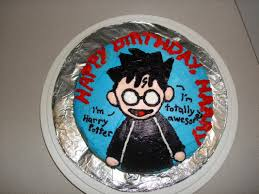 Harry Potters Birthday Cake