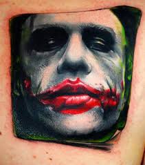 Joker Tattoo Designs