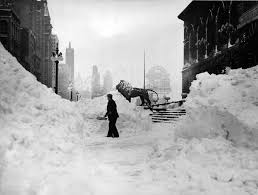 of Chicago, 1939 blizzard.