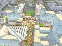 a Vikings stadium,