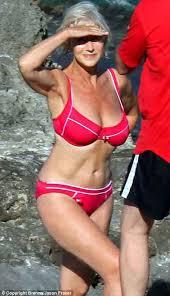 Helen Mirren the bikini queen
