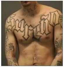 gangs tattoo