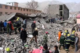 China earthquake today.