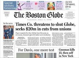 close the Boston Globe if