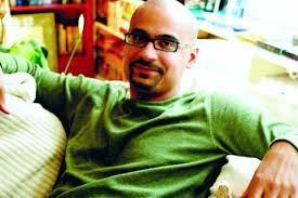 When Junot Diaz burst onto the - 9159_Junot_Diaz-Lily_Oei-e-BG
