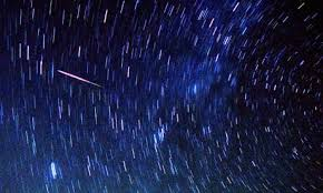 The Perseid meteor shower is