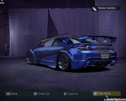 auto need for speed carbono