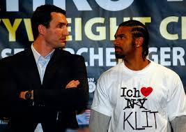Klitschko vs. Haye in the