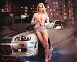 Wallpaper Girls Cars