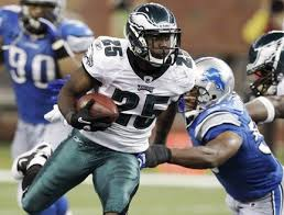 LeSean McCoy against the Lions