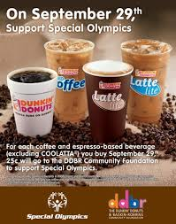National Coffee Day at Dunkin