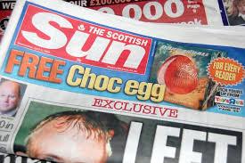 Scottish Sun Newspaper | Photo