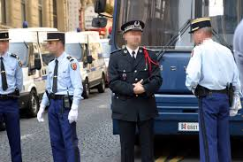 France Gendarmerrie sedang Patroli