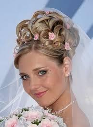 технология свадебных причесок