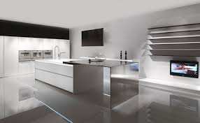 Clean Modern Minimalist Kitchen