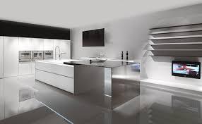 Clean Modern Minimalist Kitchen