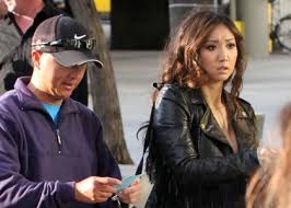 Brenda Song: Lakers Lady
