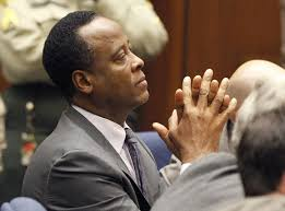 Dr. Conrad Murray in court as