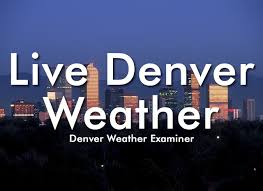 Live Denver weather including