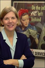 I believe Elizabeth Warren has