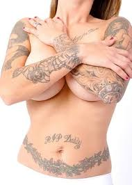 Body Tattoo Girl Trend Tattoo 2010