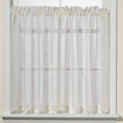 Diamante Kitchen Window Tiers - 45