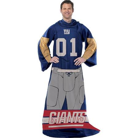 NFL New York Giants Uniform Huddler Blanket