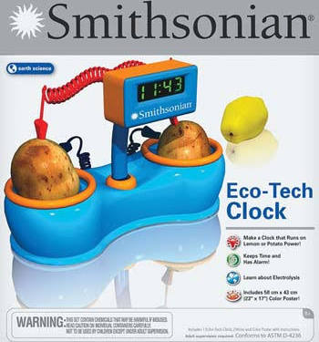 NSI 52401 Eco Tech Clock NSIX2401
