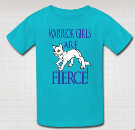 Warrior Girls Shirt Cat Shirt Cats Lover
