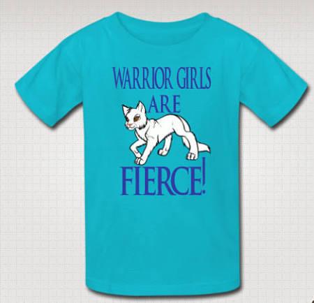 Warrior Girls Shirt Cat Shirt Cats Lover