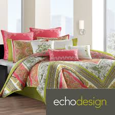 Echo Gramercy Paisley Full Comforter Set