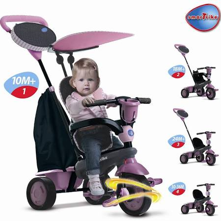 Toys R US 1001325 Smart Trike Touch Steering
