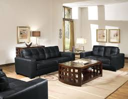 Baxton Studio Whitney Modern Black Leather