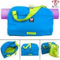 Fitmark Namaste Tote Gym Yoga Crossbody Messenger Duffle Blue + ...