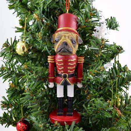 ES Imports 35358-31 Pug Ornament Nutcracker