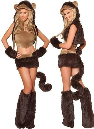 Adult Fancy Halloween Monkey Costume