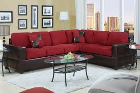Poundex Furniture F7638 Manhattan Red