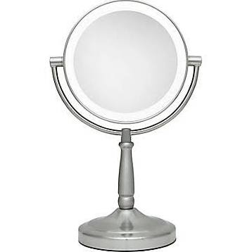 Zadro LED Lighted Makeup Mirror Satin