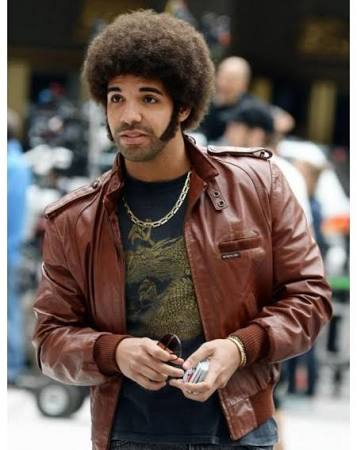 Aubrey Drake Graham Anchorman 2 Leather