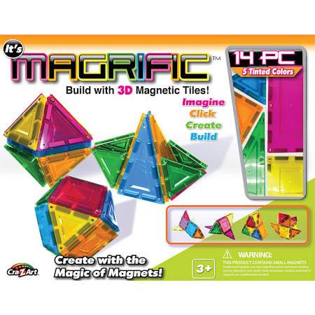 Cra-Z-Art 1011874 Magrific 3D Magnetic