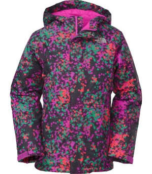 The North Face Insulated Violet Jacket