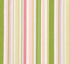 Multi Pink Stripes Twin Bedskirt