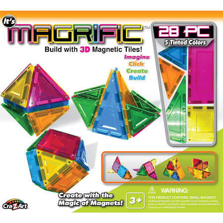 Magrific Magnetic Tiles Building Set -