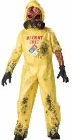 Hazmat Hazard Biohazard Suit Costume Child