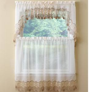 Seville Kitchen Curtain - Tier Pair 60